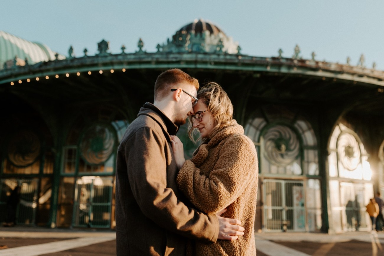 Asbury Park Engagement Photos Winter Beach Engagement Session New Jersey Wedding Photographer Anais Possamai Photography 021