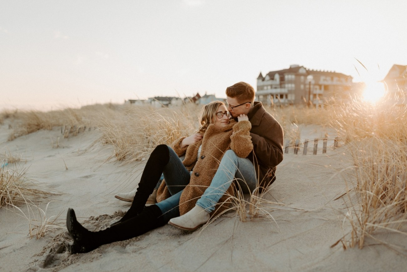 Asbury Park Engagement Photos Winter Beach Engagement Session New Jersey Wedding Photographer Anais Possamai Photography 026