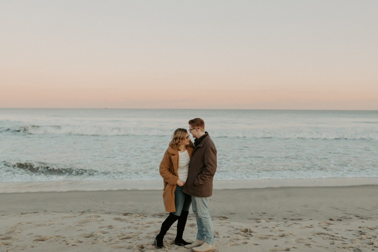 Asbury Park Engagement Photos Winter Beach Engagement Session New Jersey Wedding Photographer Anais Possamai Photography 034
