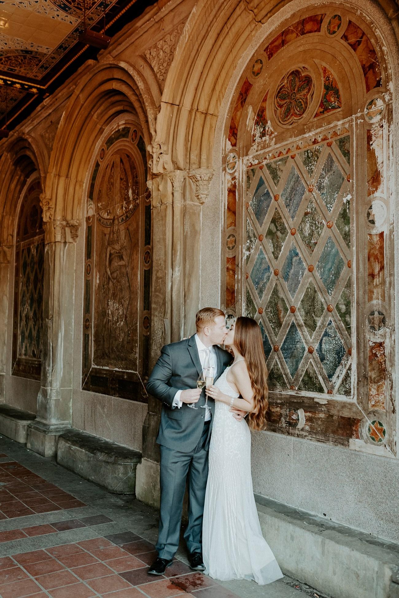 Central Park Elopement Bethesda Fountain Wedding New York Wedding Photographer 51