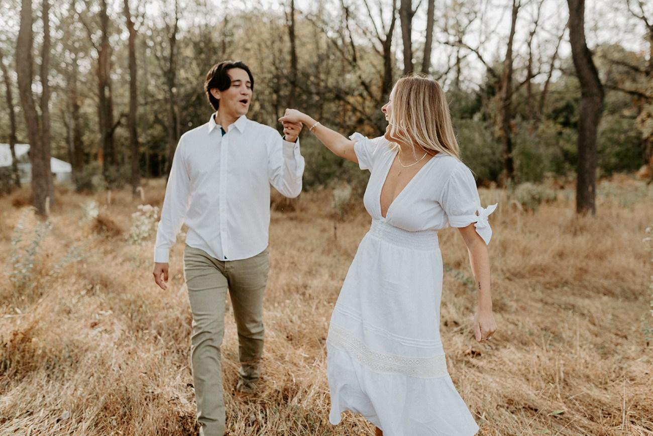 Fall Golden Fiels Engagement Session Woolverton Inn Engagement Photos New Jersey Wedding Photographer Anais Possamai Photography 13