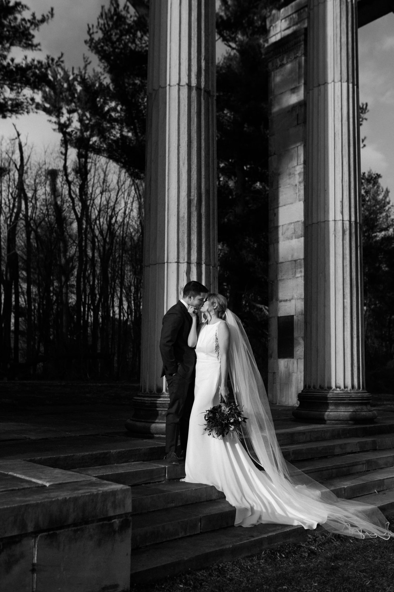 Princeton Battlefield Wedding Princeton University Elopement New Jersey Wedding Photographer Anais Possamai Photography 26