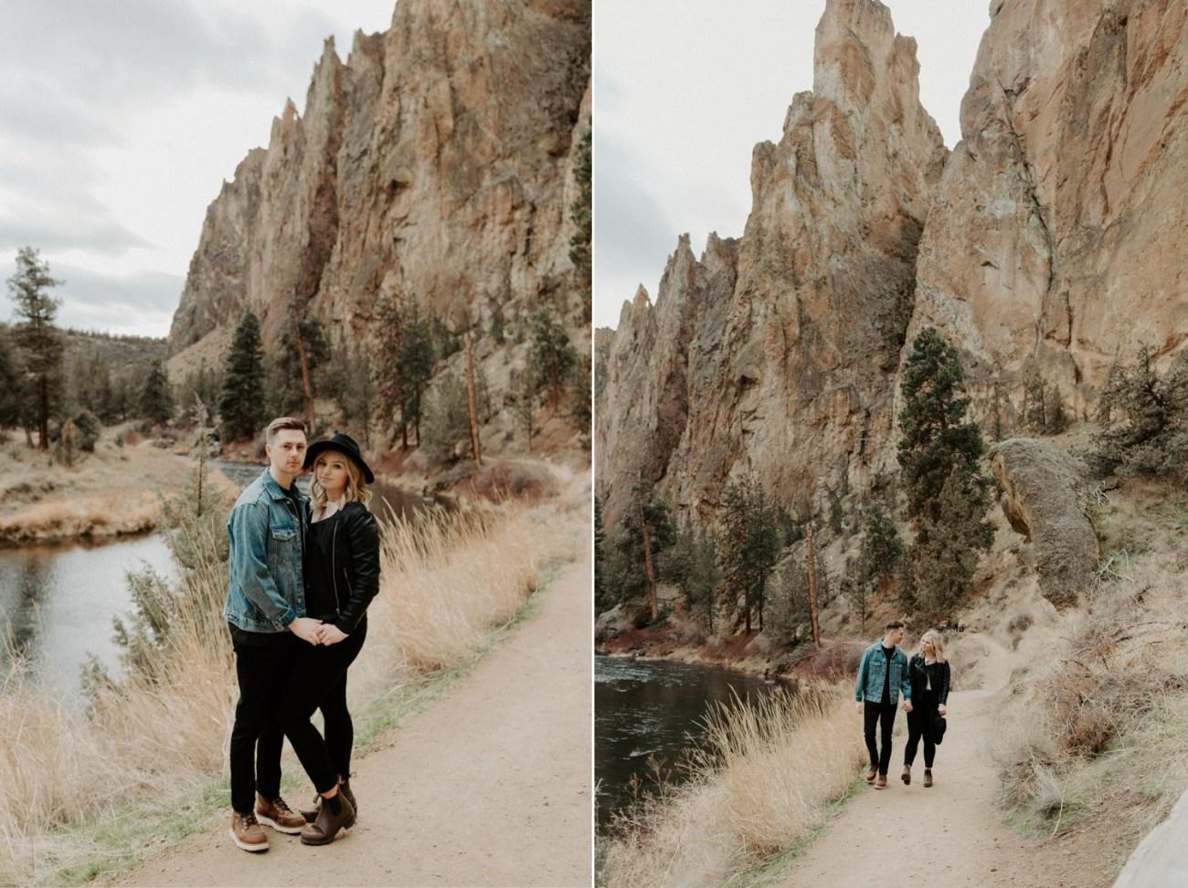 Smith Rock State Park Engagement Session Bend Oregon Wedding Photographer Anais Possamai Photography 016