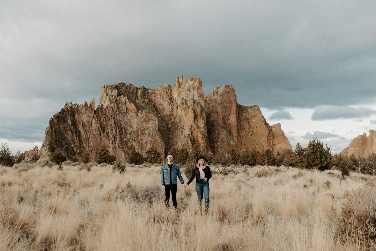Smith Rock State Park Engagement Session Bend Oregon Wedding Photographer Anais Possamai Photography 40