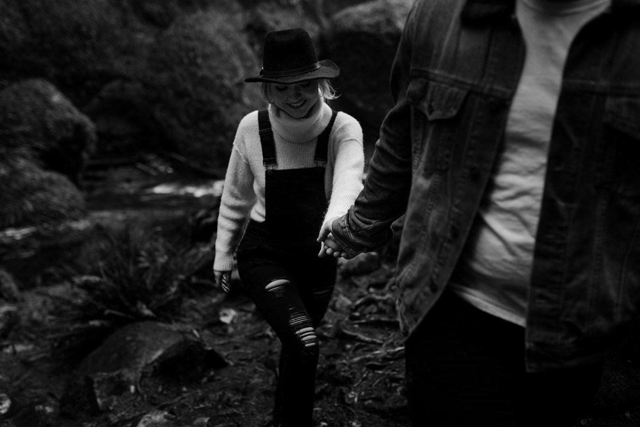 Wahclella Falls Engagement Session Columbia River Gorge Oregon Portland Wedding Photographer Anais Possamai Photography 54