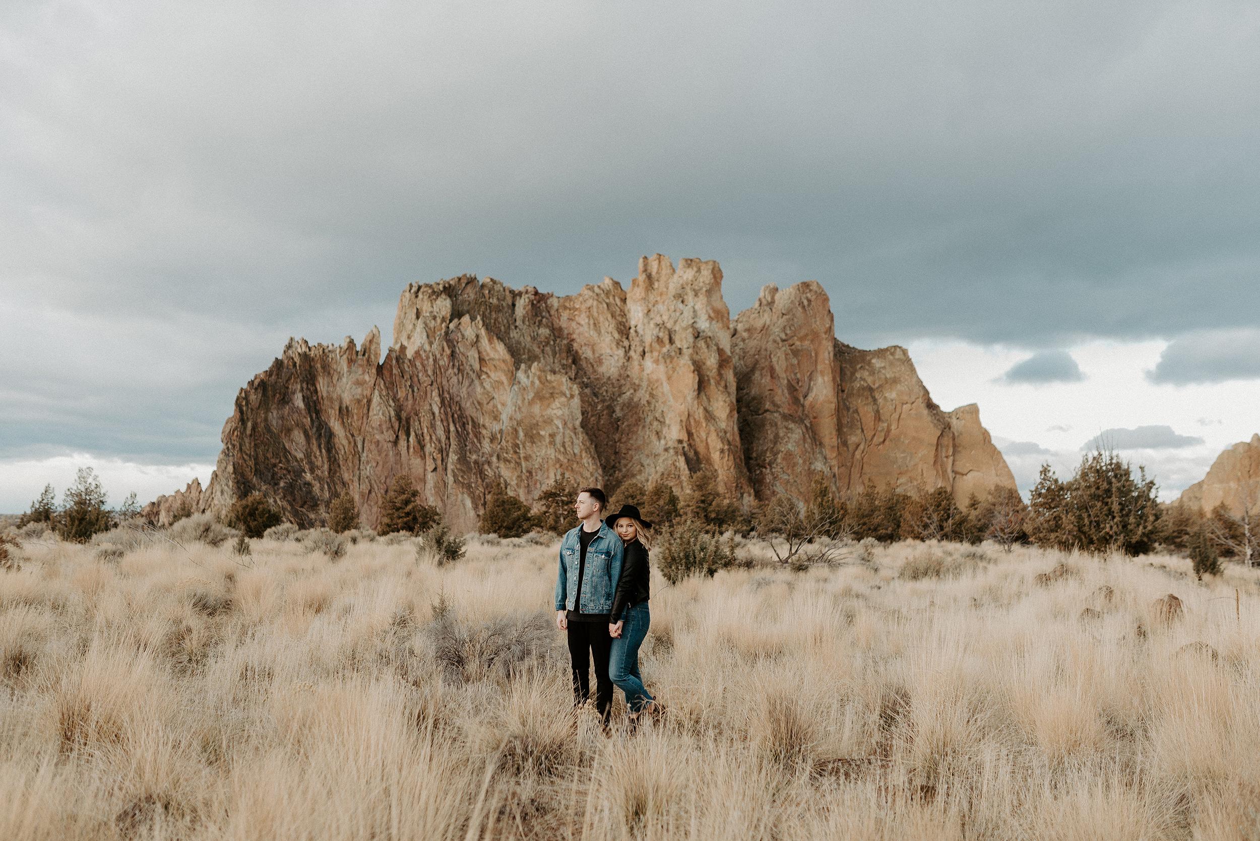 Smith Rock State Park Engagement Session Bend Oregon Wedding Photographer Anais Possamai Photography 46