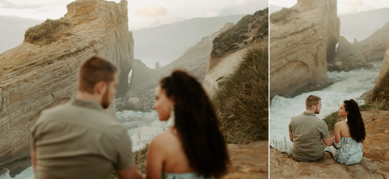 Cape Kiwanda Engagement Session Best Location In Oregon For Engagement Photos Portland Wedding Photographer Anais Possamai Photography 009