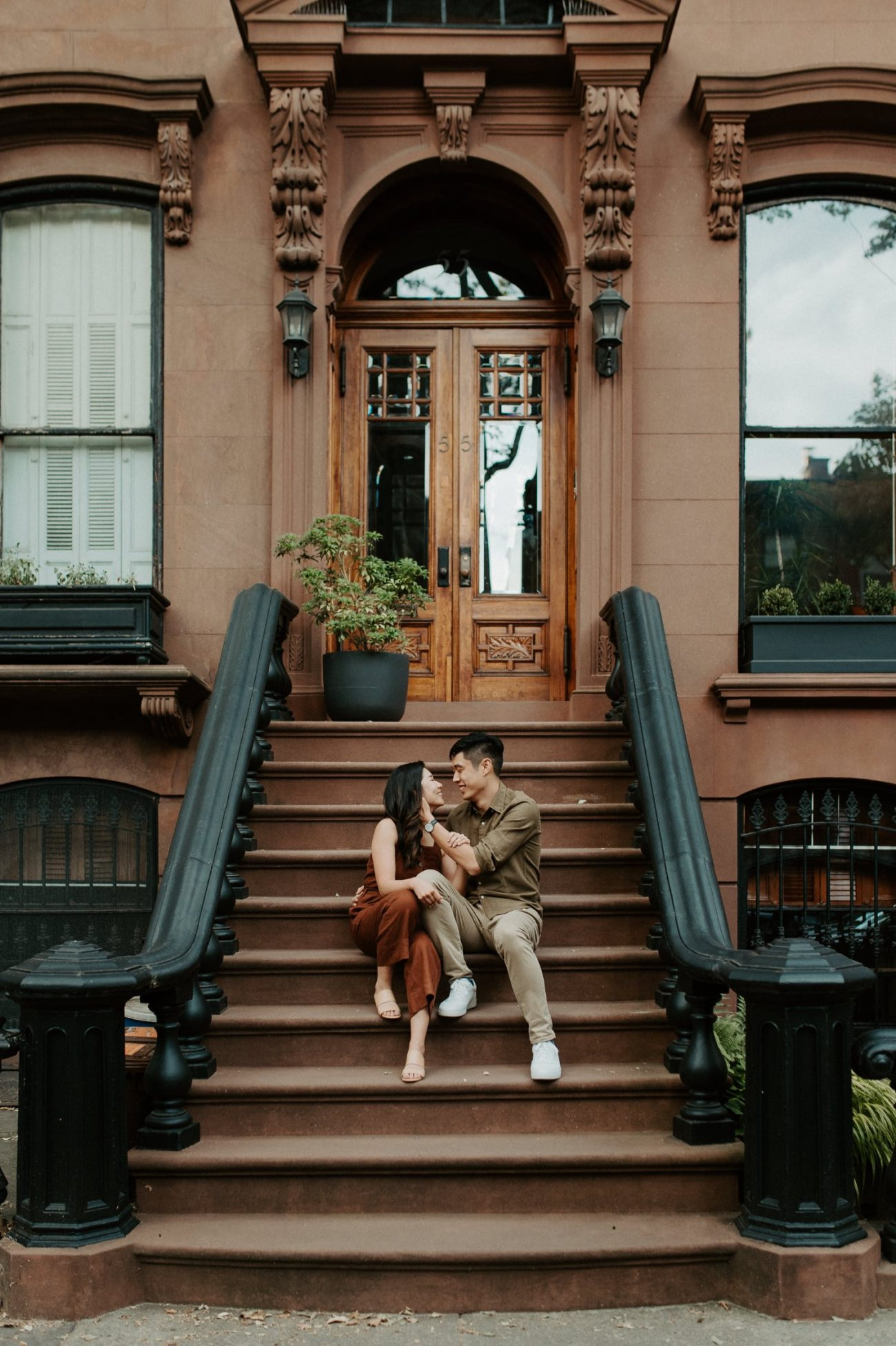 Fort Greene Brooklyn Engagement Session Brooklyn Wedding Photographer New York Wedding Photographer Anais Possamai Photography 008
