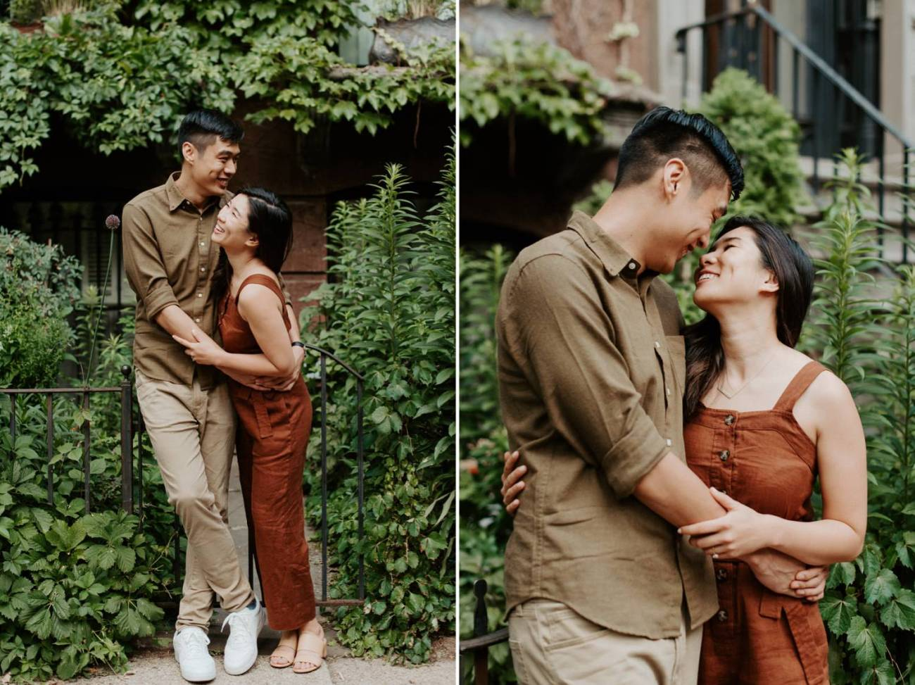 Fort Greene Brooklyn Engagement Session Brooklyn Wedding Photographer New York Wedding Photographer Anais Possamai Photography 012
