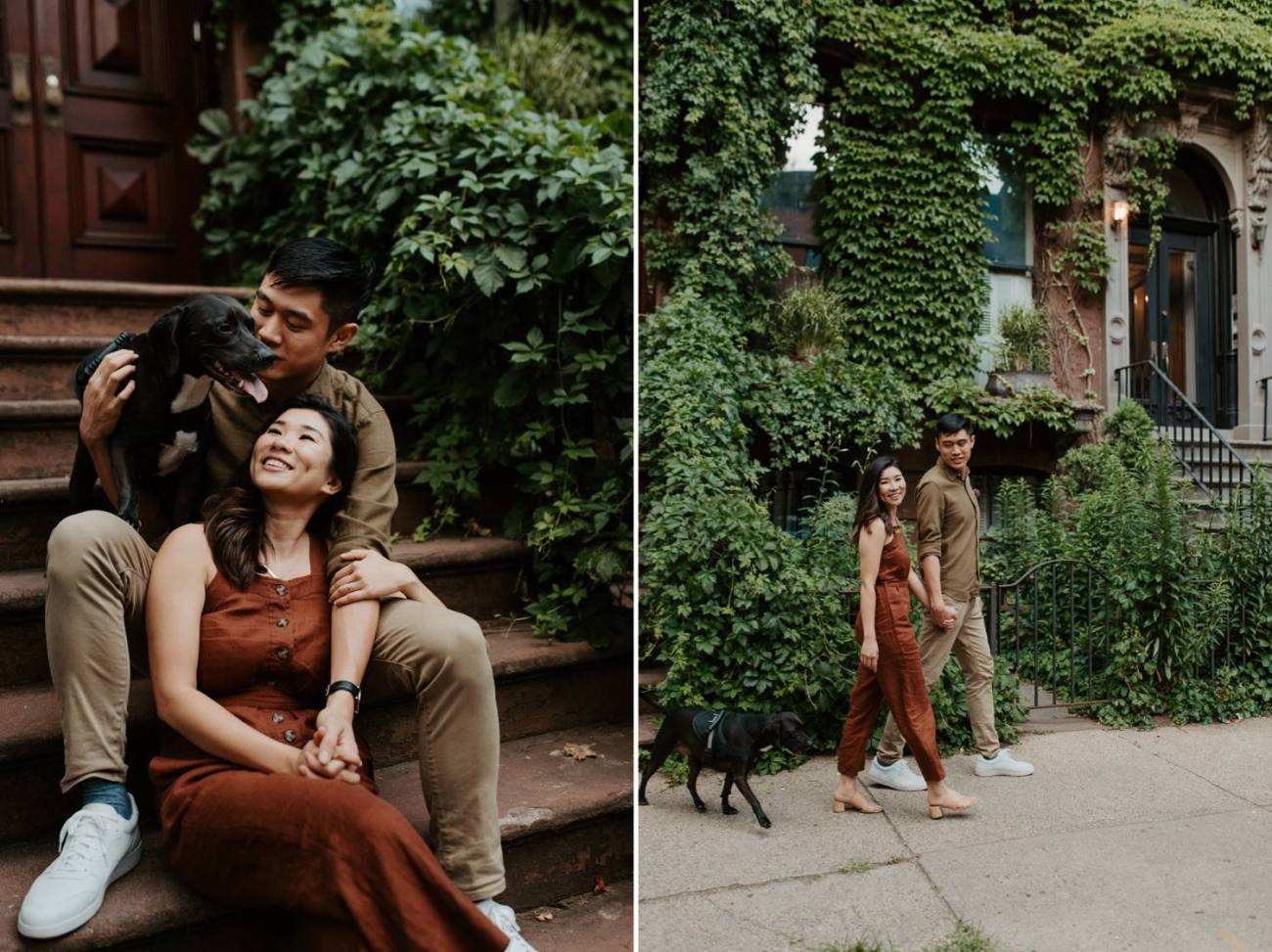 Fort Greene Brooklyn Engagement Session Brooklyn Wedding Photographer New York Wedding Photographer Anais Possamai Photography 014