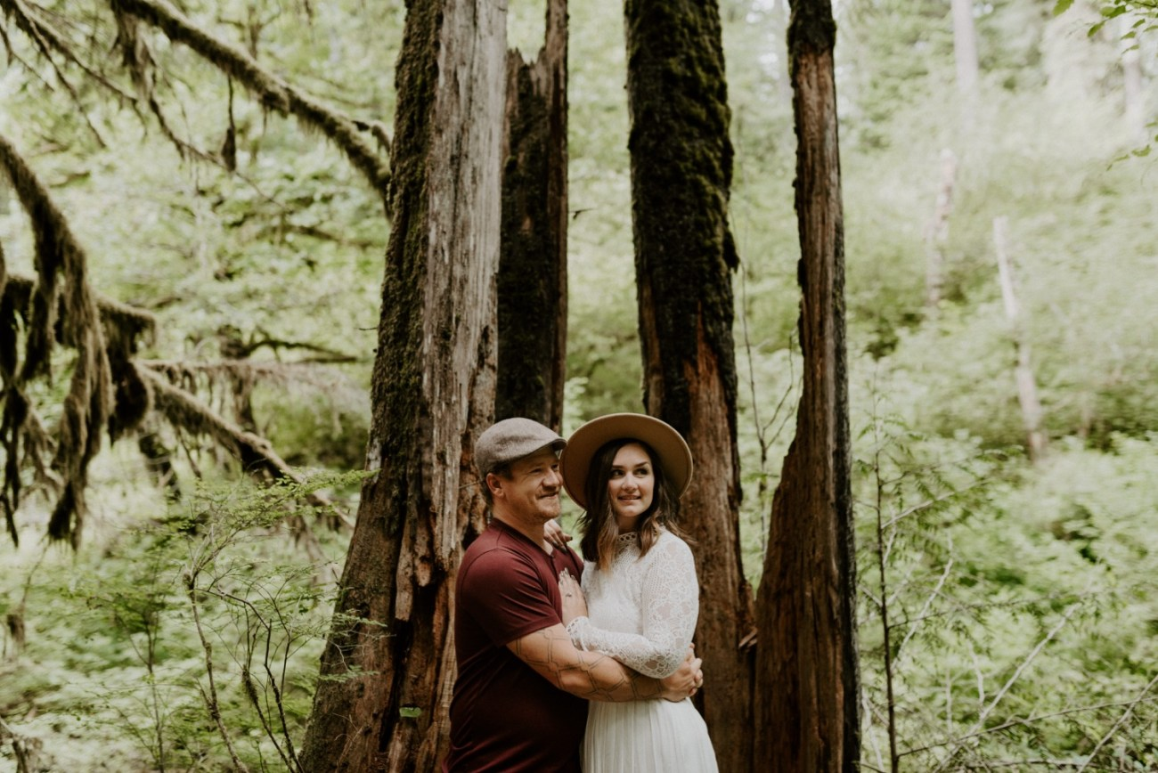 Silver Falls State Park Engagement Session North Falls Engagement Photos Portland Wedding Photographer Oregon Elopement Photographer Anais Possamai Photography 007