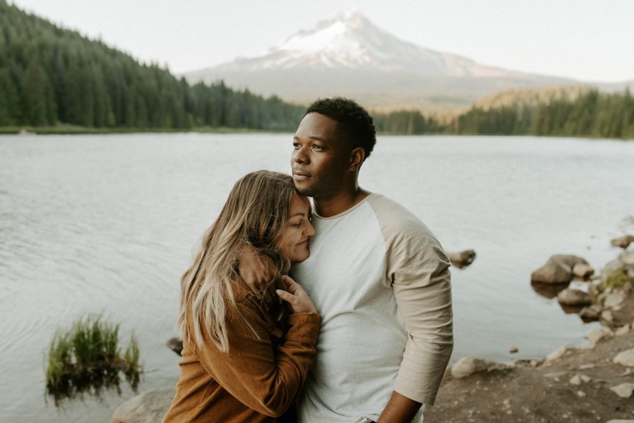 Trillium Lake Mount Hood Couple Session Engagement Session Portland Wedding Photographer Bend Elopement Photographer Anais Possamai Photography 019