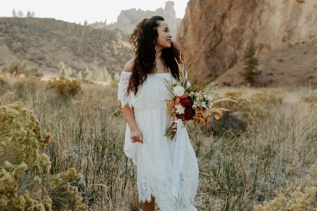 Smith Rock Elopement Bend Elopement Photographer Bend Wedding Photographer Fall Bend Wedding Anais Possamai Photography 008