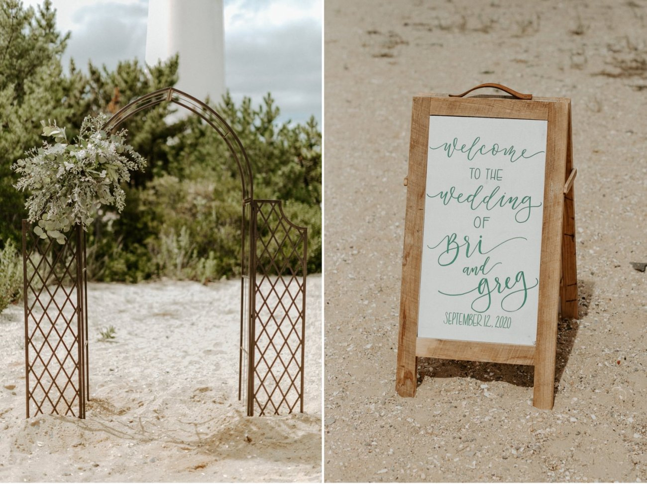 Long Beach Island Wedding Barnegat Lighthouse Wedding Ceremony New Jersey Wedding Anais Possamai Photography Oregon Wedding Photographer 0024