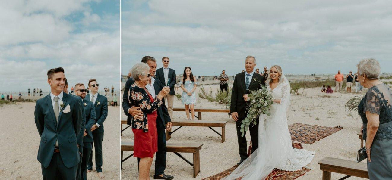 Long Beach Island Wedding Barnegat Lighthouse Wedding Ceremony New Jersey Wedding Anais Possamai Photography Oregon Wedding Photographer 0028