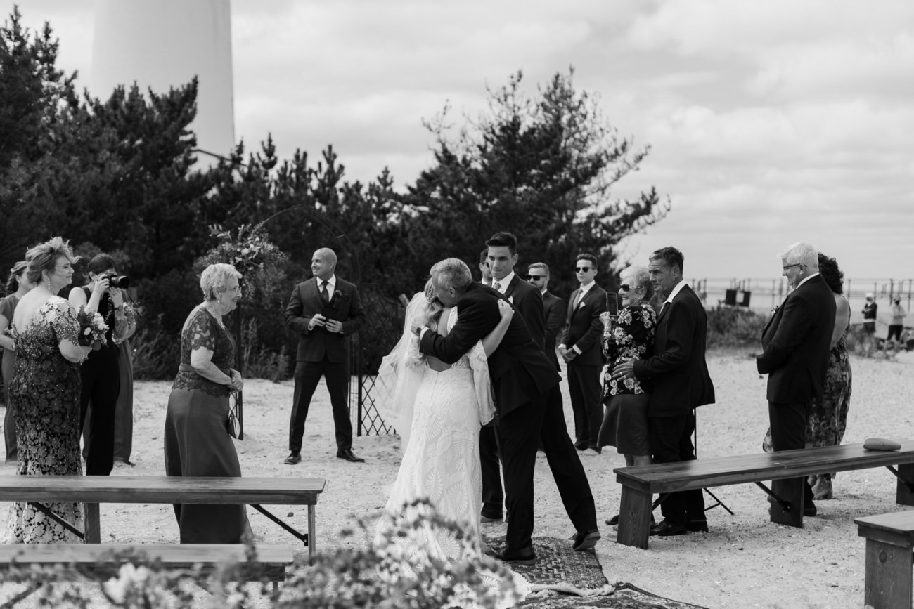 Long Beach Island Wedding Barnegat Lighthouse Wedding Ceremony New Jersey Wedding Anais Possamai Photography Oregon Wedding Photographer 0030