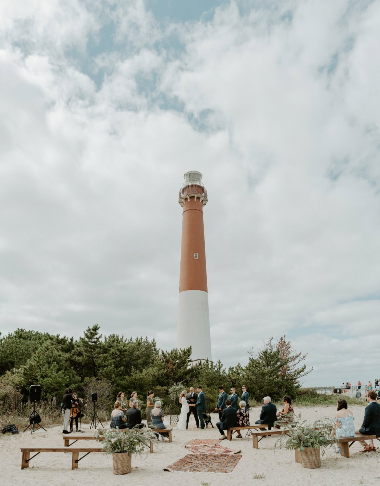 Long Beach Island Wedding Barnegat Lighthouse Wedding Ceremony New Jersey Wedding Anais Possamai Photography Oregon Wedding Photographer 0032