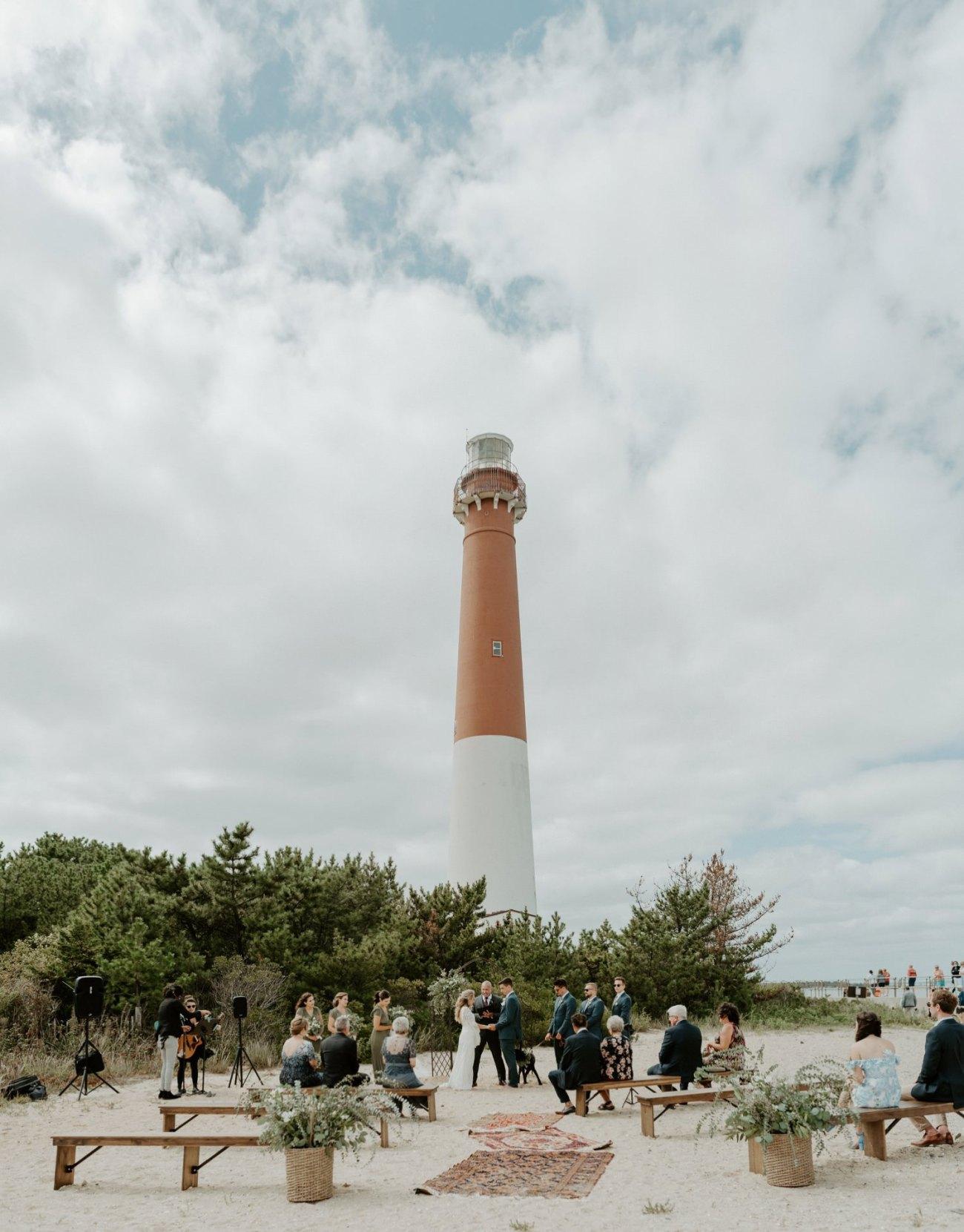 Long Beach Island Wedding Barnegat Lighthouse Wedding Ceremony New Jersey Wedding Anais Possamai Photography Oregon Wedding Photographer 0032