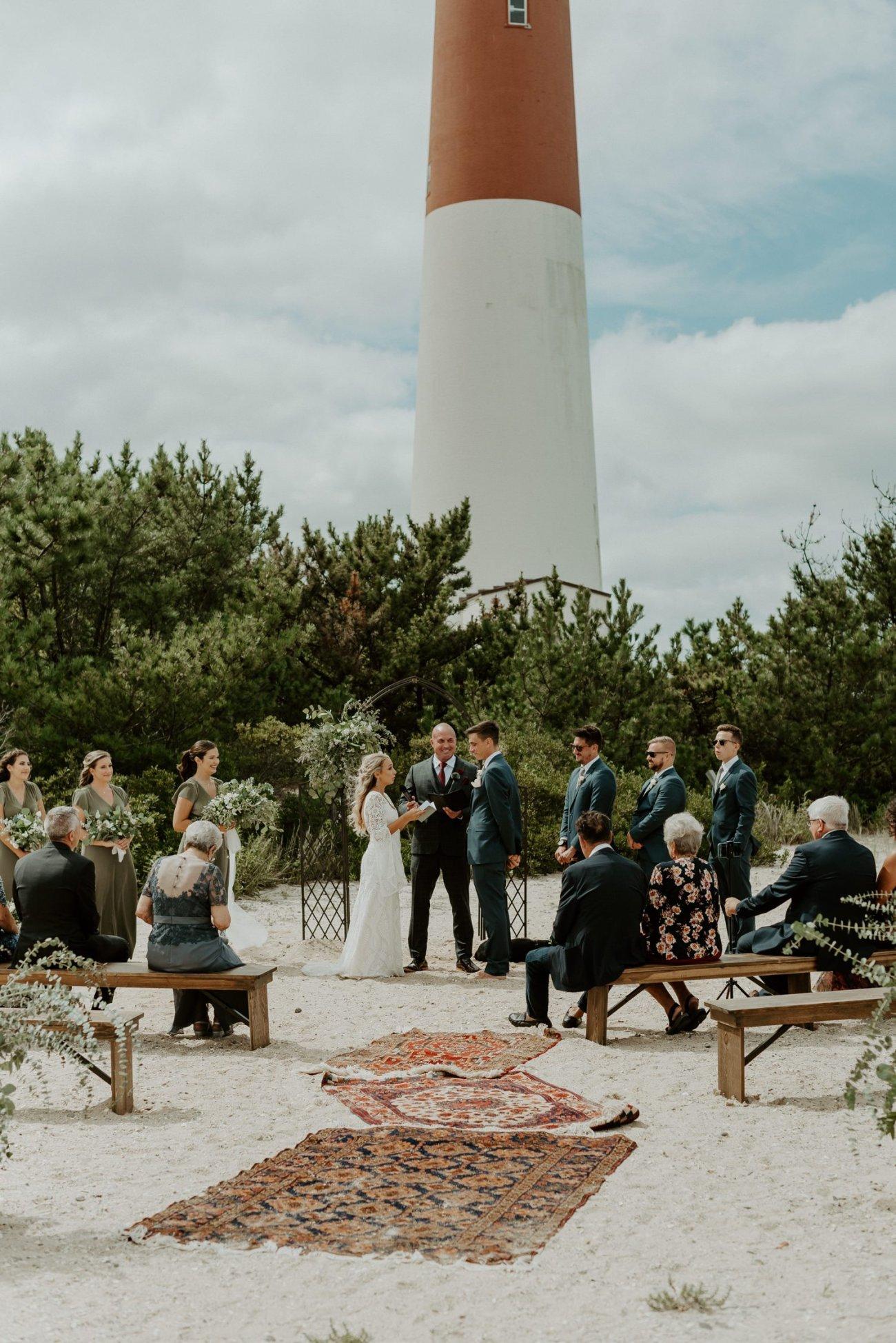 Long Beach Island Wedding Barnegat Lighthouse Wedding Ceremony New Jersey Wedding Anais Possamai Photography Oregon Wedding Photographer 0037