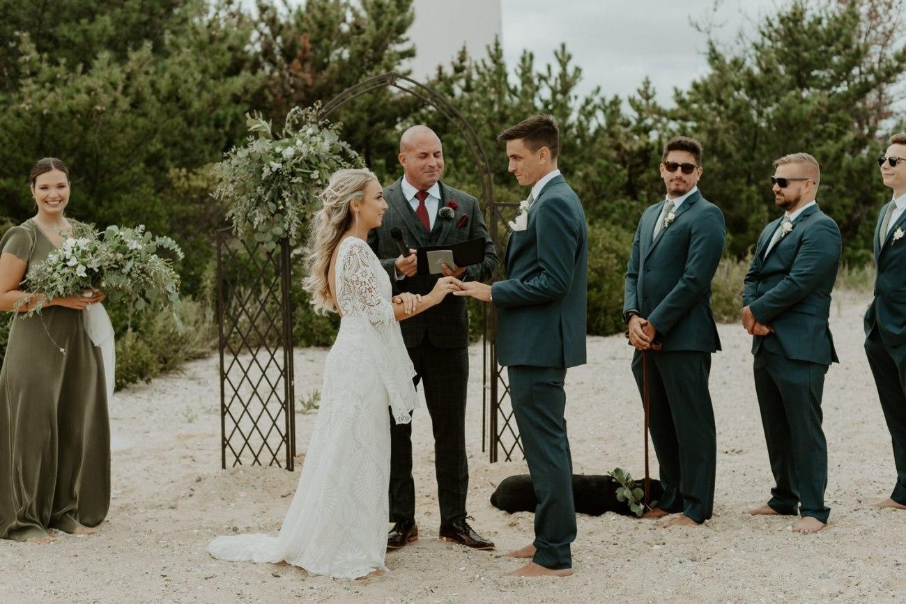 Long Beach Island Wedding Barnegat Lighthouse Wedding Ceremony New Jersey Wedding Anais Possamai Photography Oregon Wedding Photographer 0038