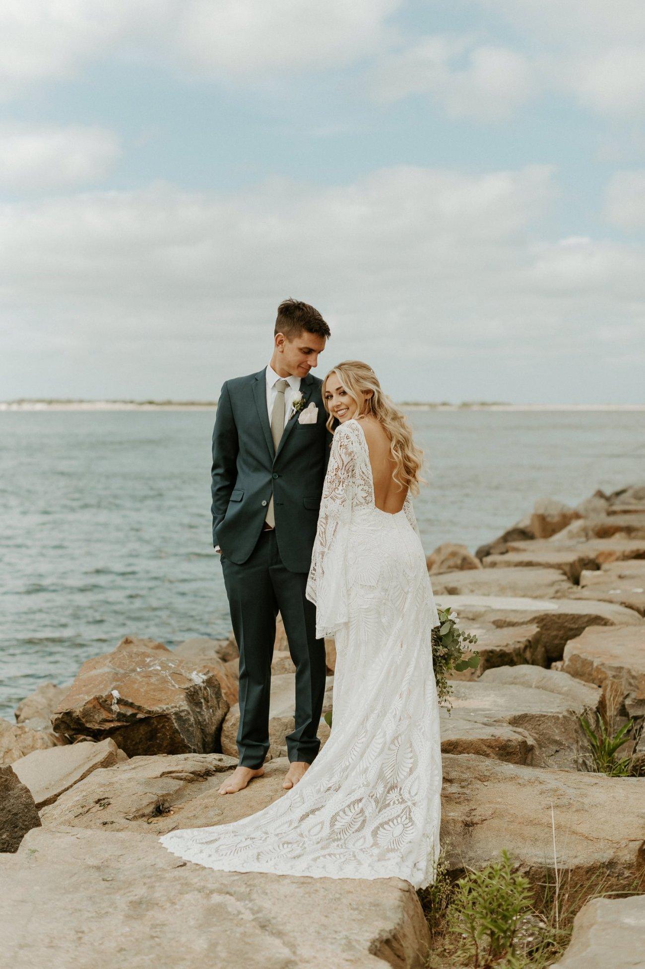 Long Beach Island Wedding Barnegat Lighthouse Wedding Ceremony New Jersey Wedding Anais Possamai Photography Oregon Wedding Photographer 0044
