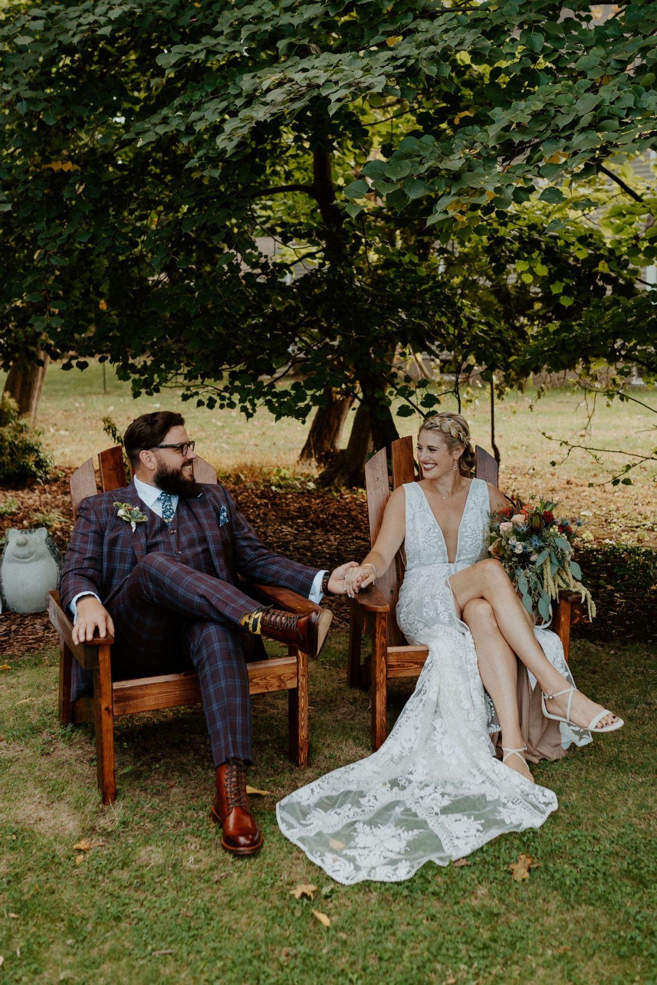 New Jersey Fall Backyard Wedding Bend Wedding Photographer NJ Wedding Photographer Anais Possamai Photography 011