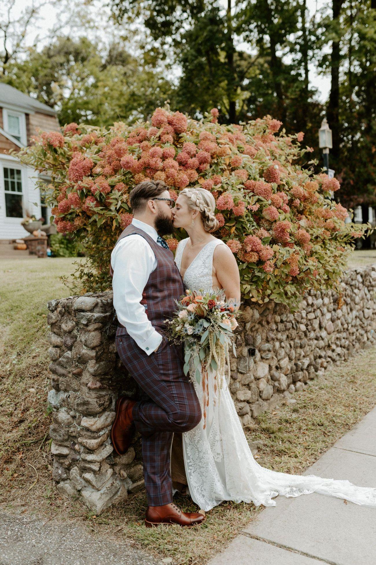 New Jersey Fall Backyard Wedding Bend Wedding Photographer NJ Wedding Photographer Anais Possamai Photography 022