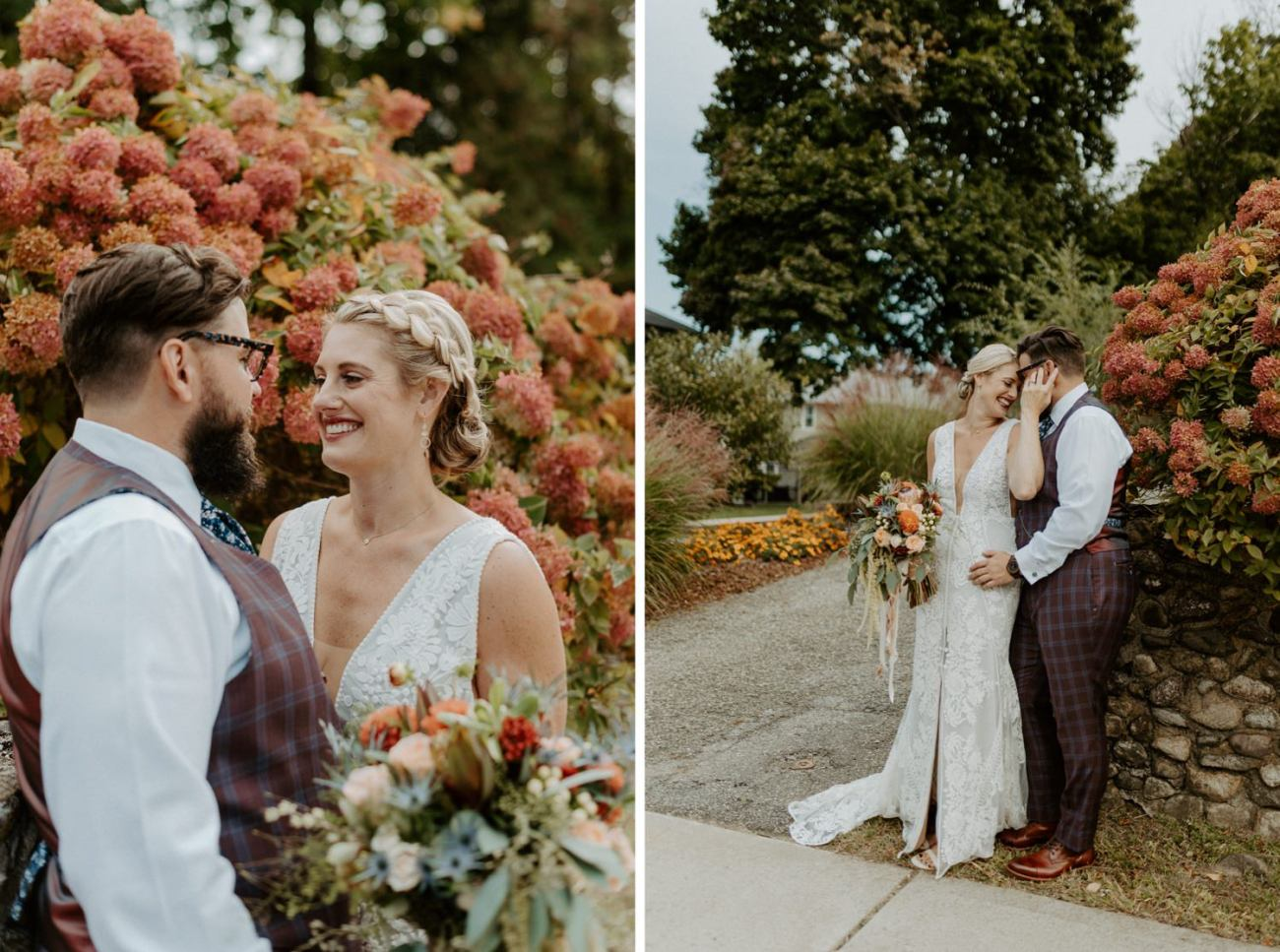 New Jersey Fall Backyard Wedding Bend Wedding Photographer NJ Wedding Photographer Anais Possamai Photography 023