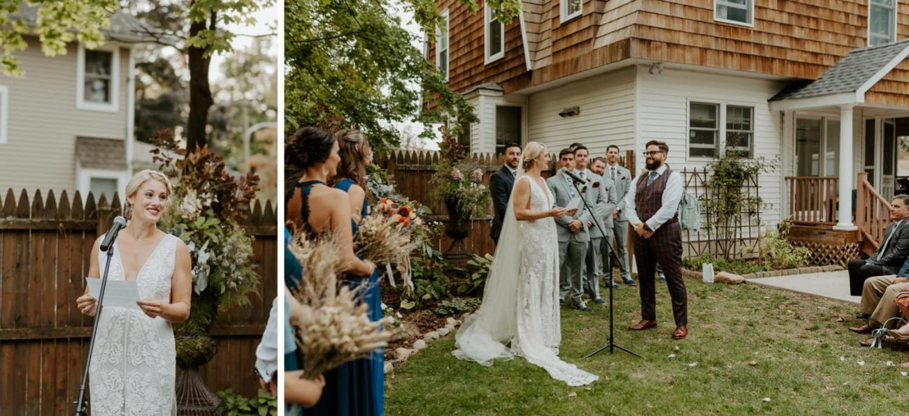 New Jersey Fall Backyard Wedding Bend Wedding Photographer NJ Wedding Photographer Anais Possamai Photography 046