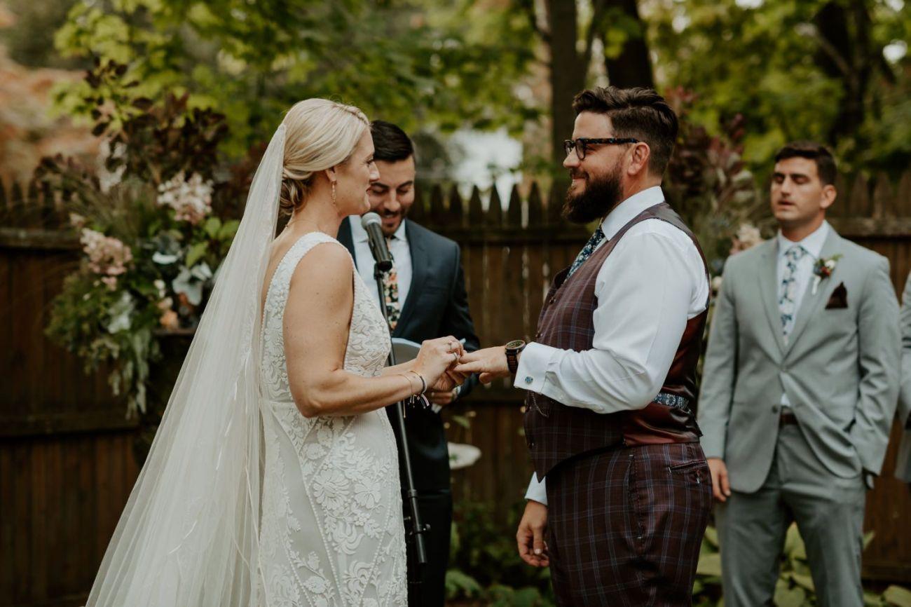 New Jersey Fall Backyard Wedding Bend Wedding Photographer NJ Wedding Photographer Anais Possamai Photography 050