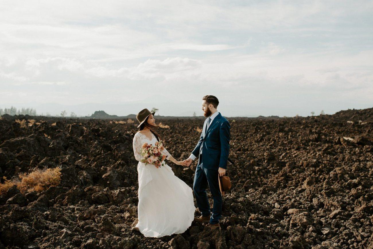 Newberry Volcano Elopement Bend Elopement Bridal Session Bend Wedding Photographer Anais Possamai Photography 004