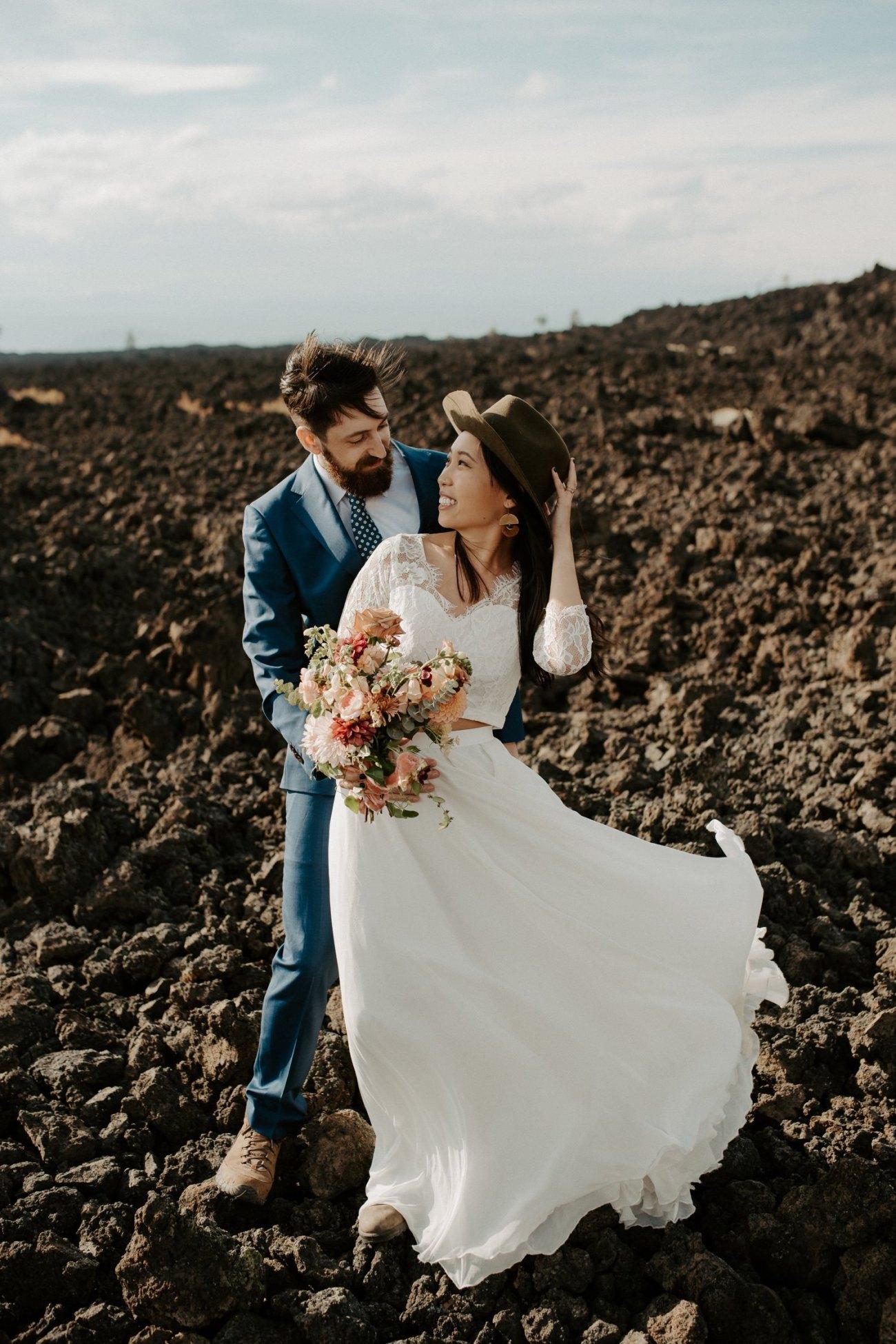 Newberry Volcano Elopement Bend Elopement Bridal Session Bend Wedding Photographer Anais Possamai Photography 005