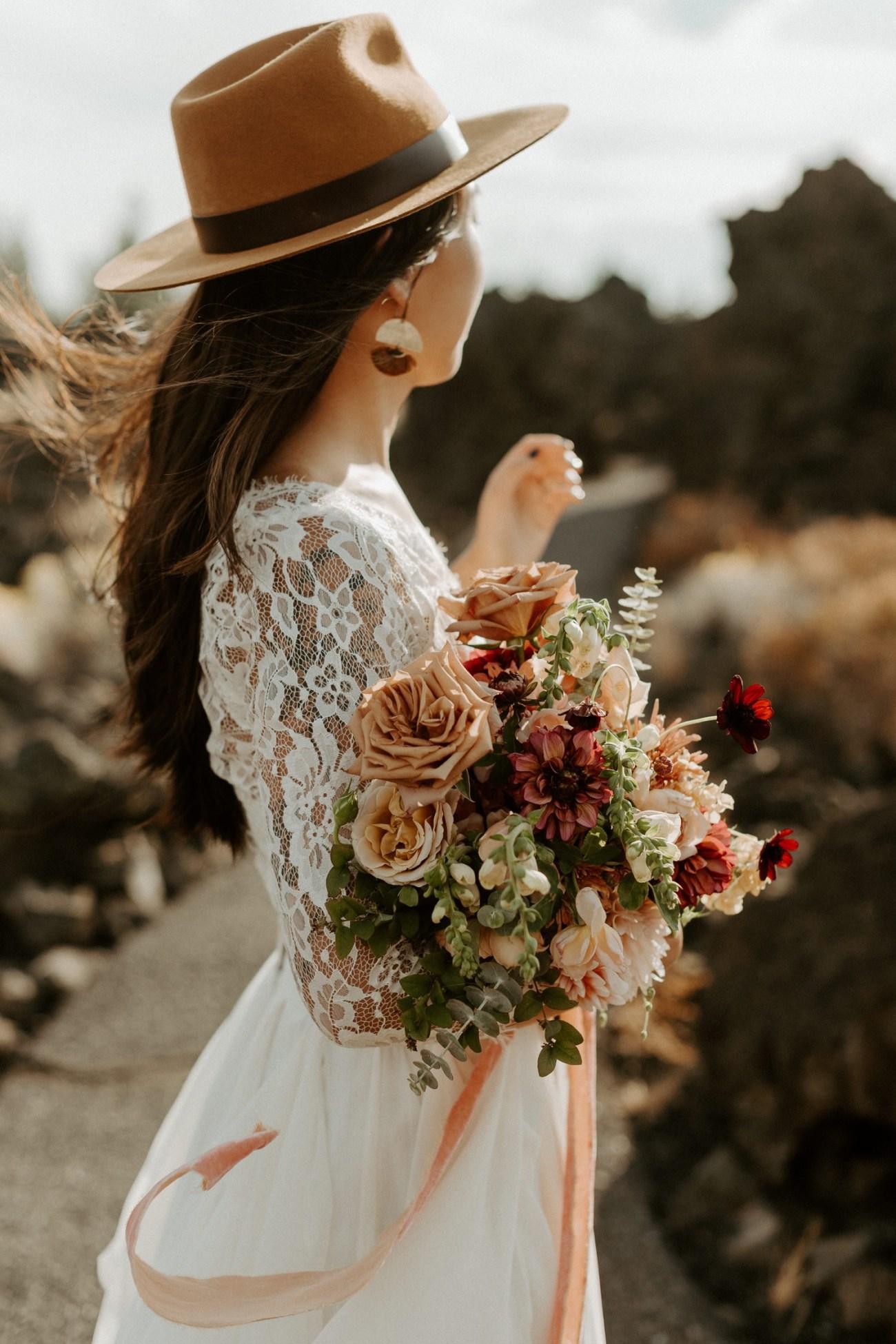 Newberry Volcano Elopement Bend Elopement Bridal Session Bend Wedding Photographer Anais Possamai Photography 010