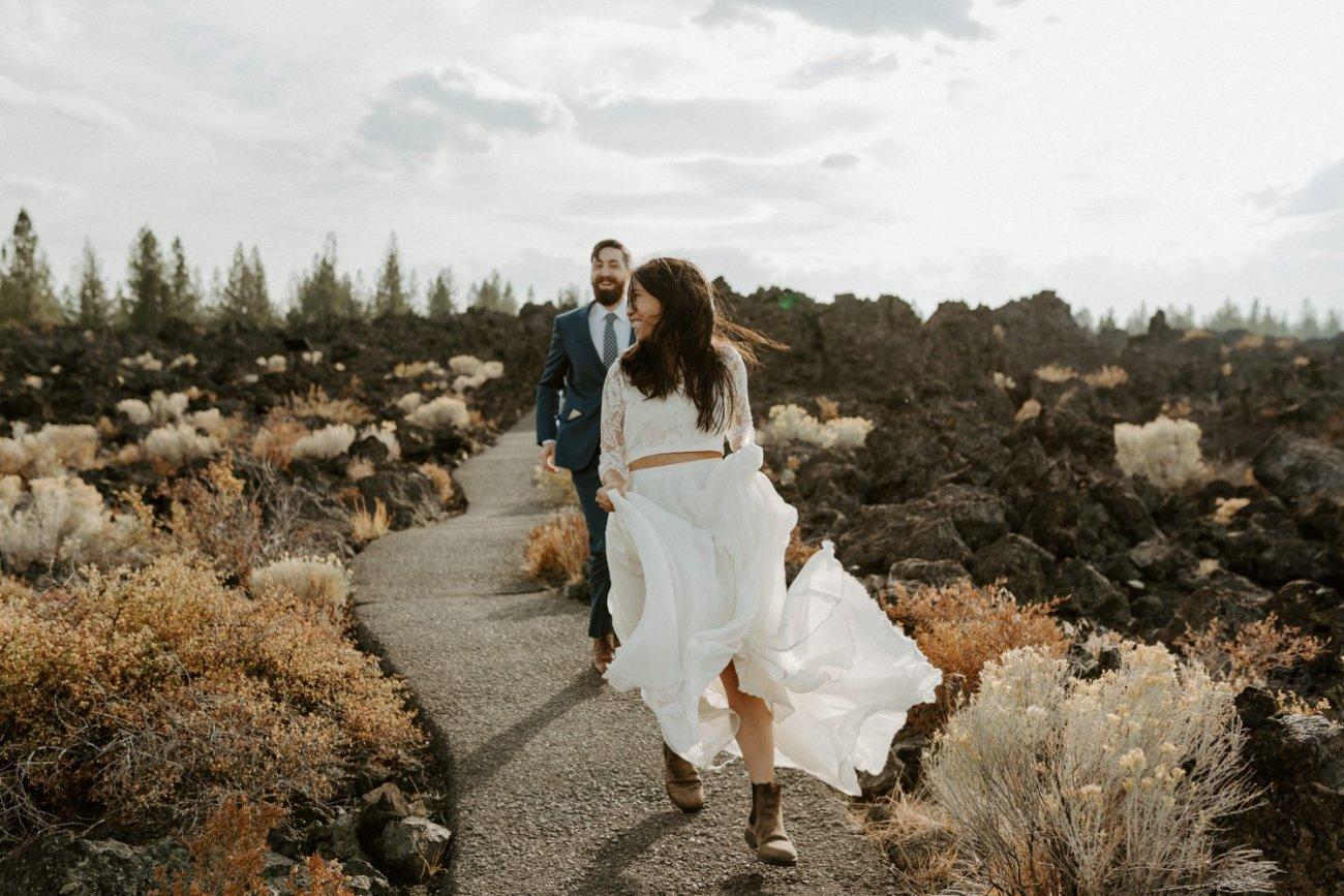 Newberry Volcano Elopement Bend Elopement Bridal Session Bend Wedding Photographer Anais Possamai Photography 015