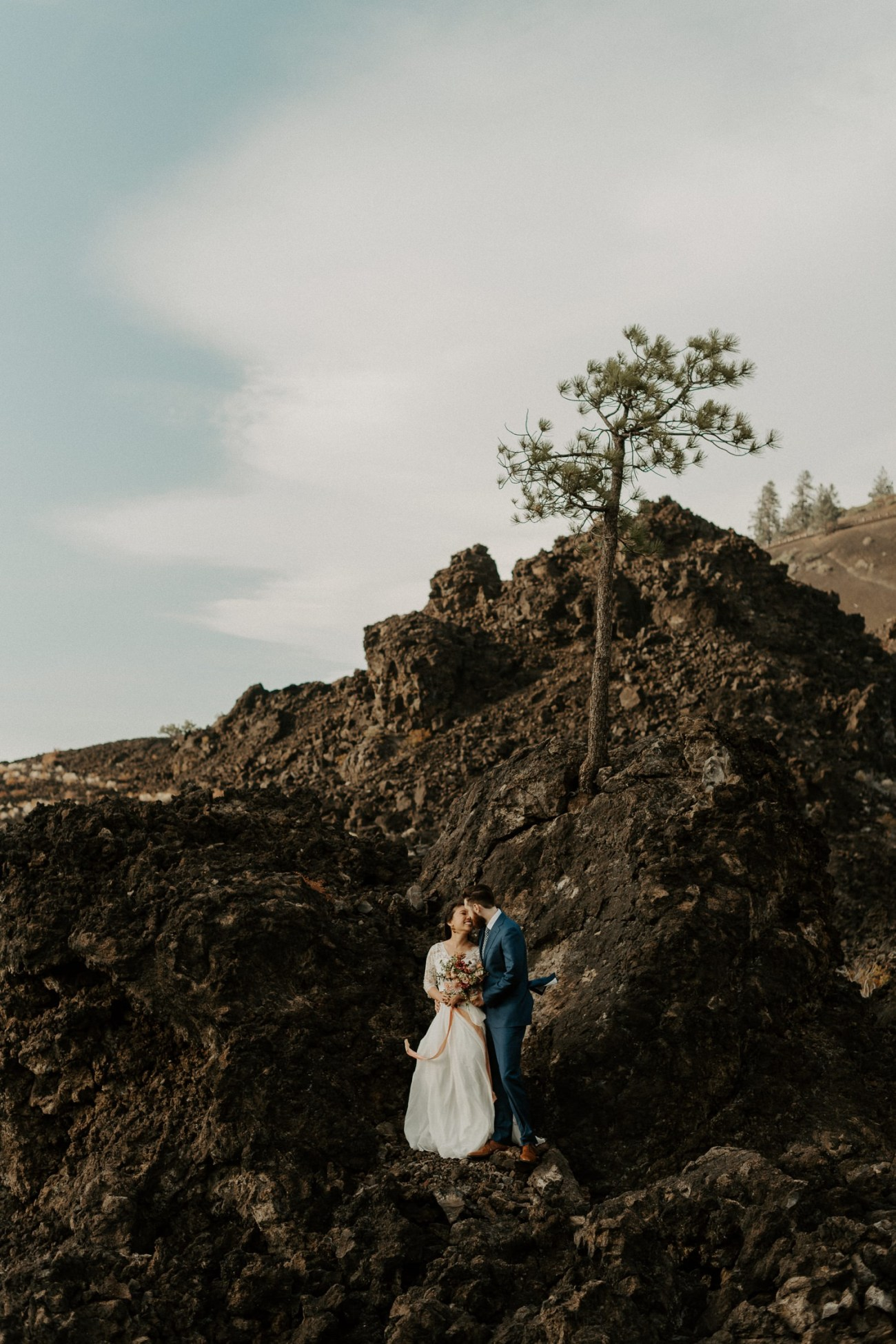 Newberry Volcano Elopement Bend Elopement Bridal Session Bend Wedding Photographer Anais Possamai Photography 024