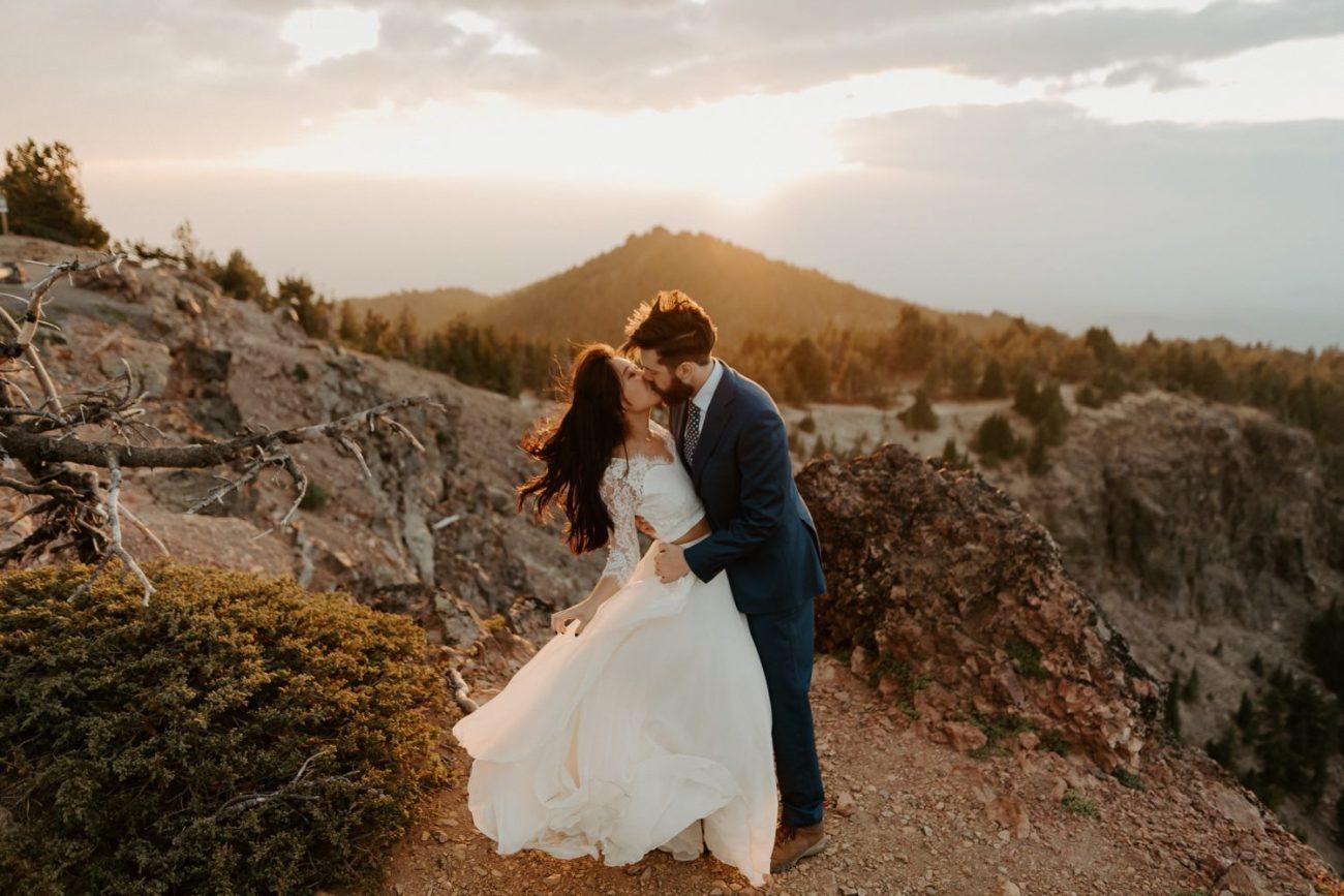Newberry Volcano Elopement Bend Elopement Bridal Session Bend Wedding Photographer Anais Possamai Photography 035