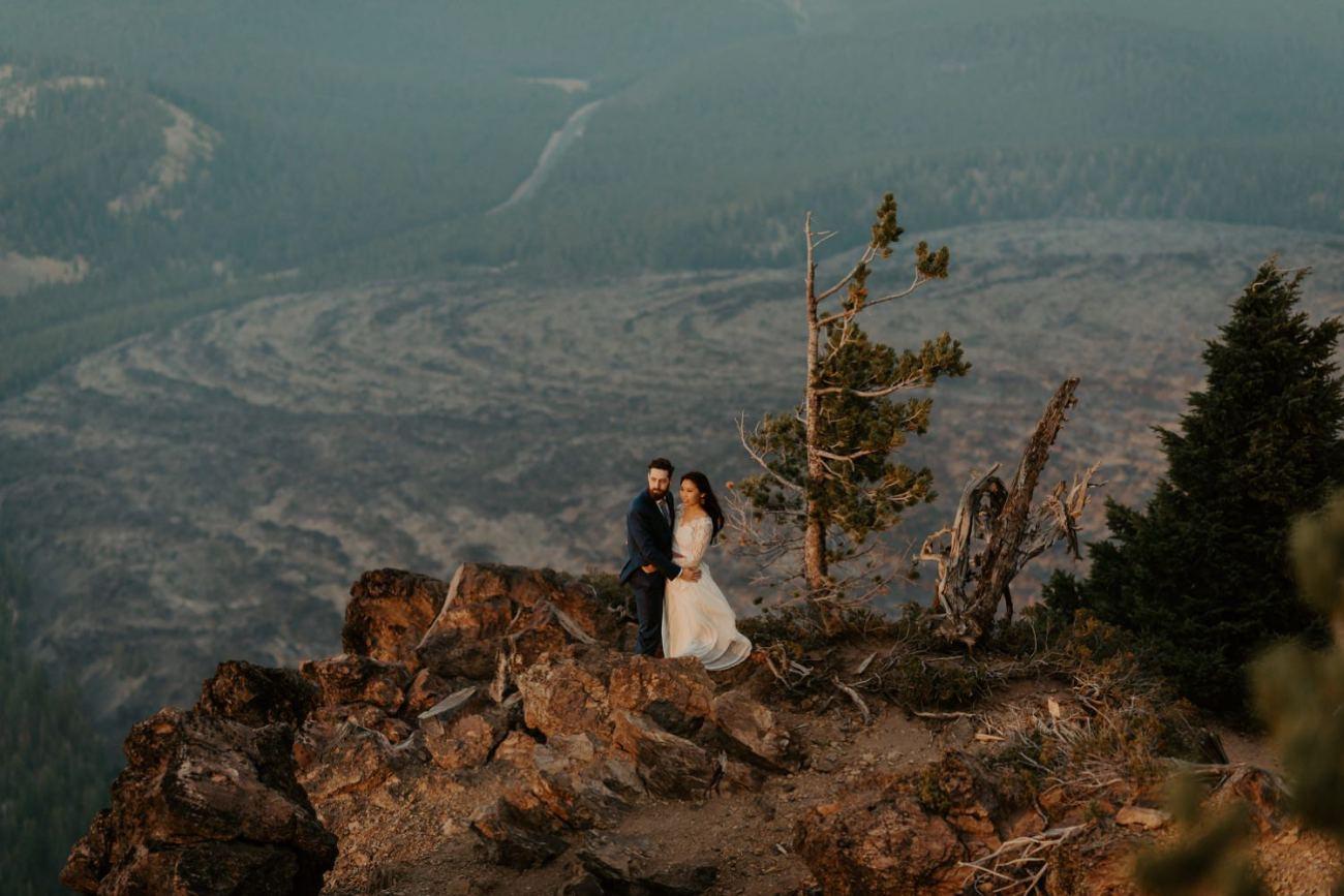 Newberry Volcano Elopement Bend Elopement Bridal Session Bend Wedding Photographer Anais Possamai Photography 038