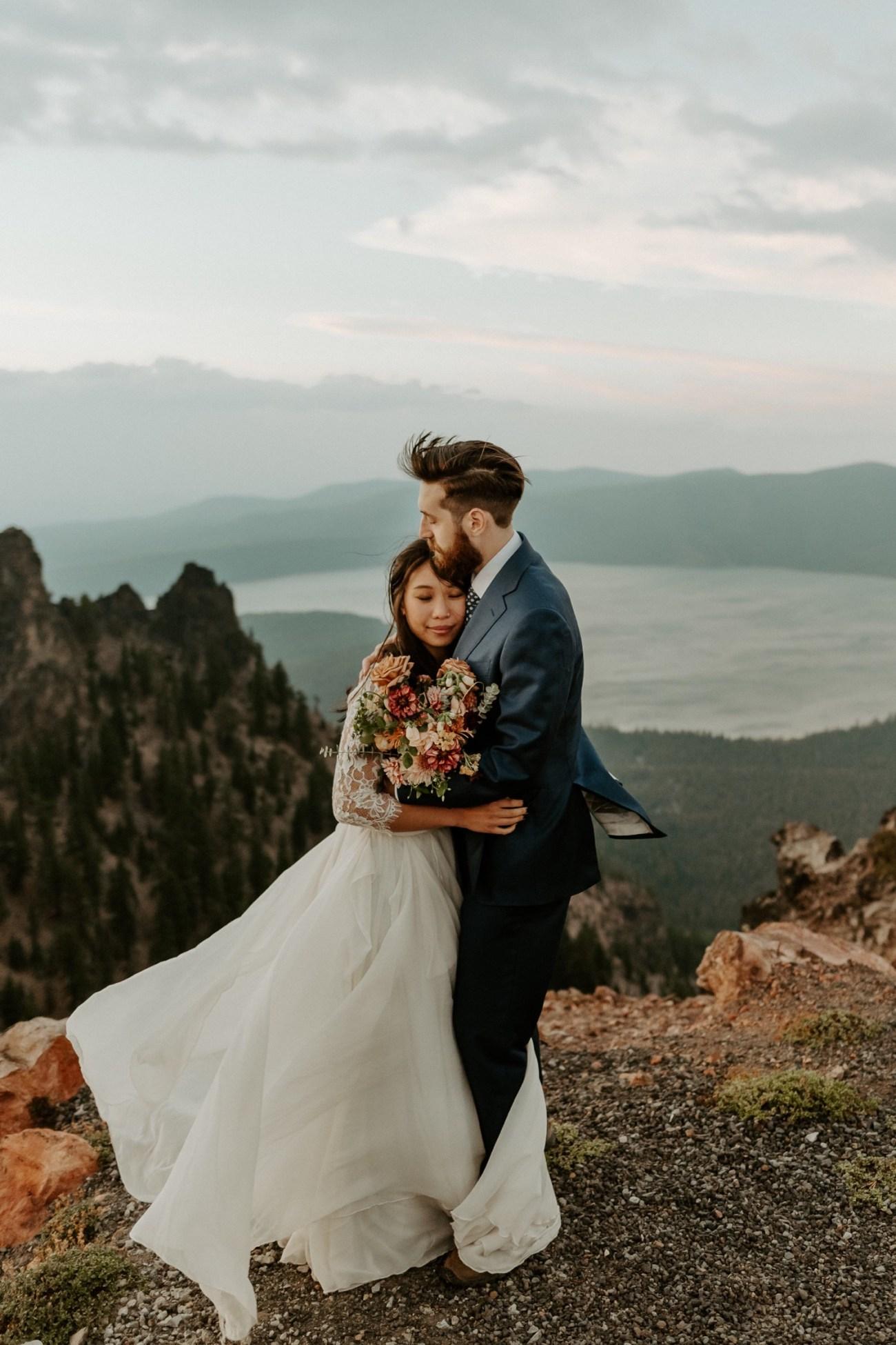 Newberry Volcano Elopement Bend Elopement Bridal Session Bend Wedding Photographer Anais Possamai Photography 039