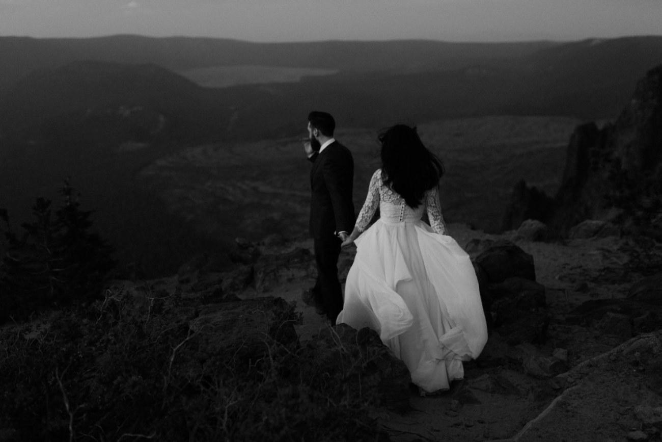 Newberry Volcano Elopement Bend Elopement Bridal Session Bend Wedding Photographer Anais Possamai Photography 043