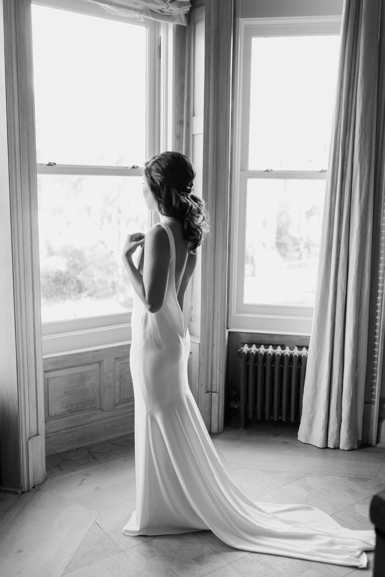 Brooklyn Brownstone House Backyard Wedding New York Wedding Photographer Anais Possamai Photography 04