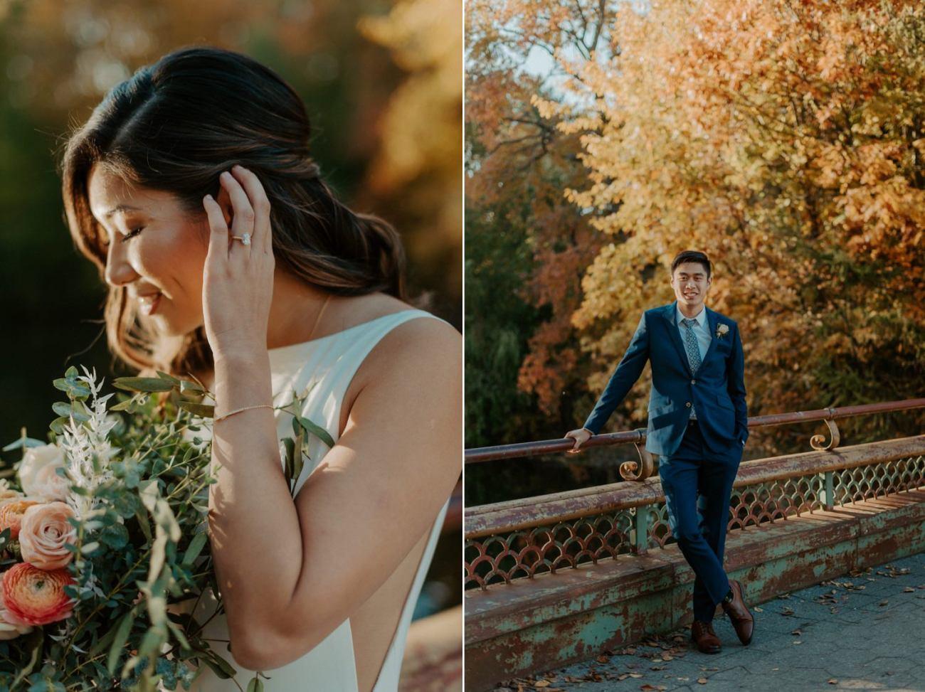Prospect Park Brooklyn Wedding Fall Wedding In NYC New York Wedding Photographer Anais Possamai Photography 12