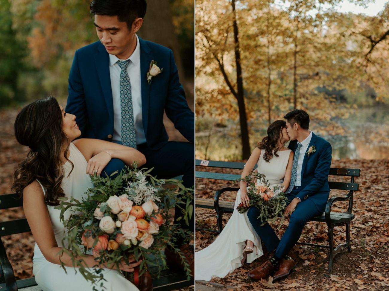 Prospect Park Brooklyn Wedding Fall Wedding In NYC New York Wedding Photographer Anais Possamai Photography 17