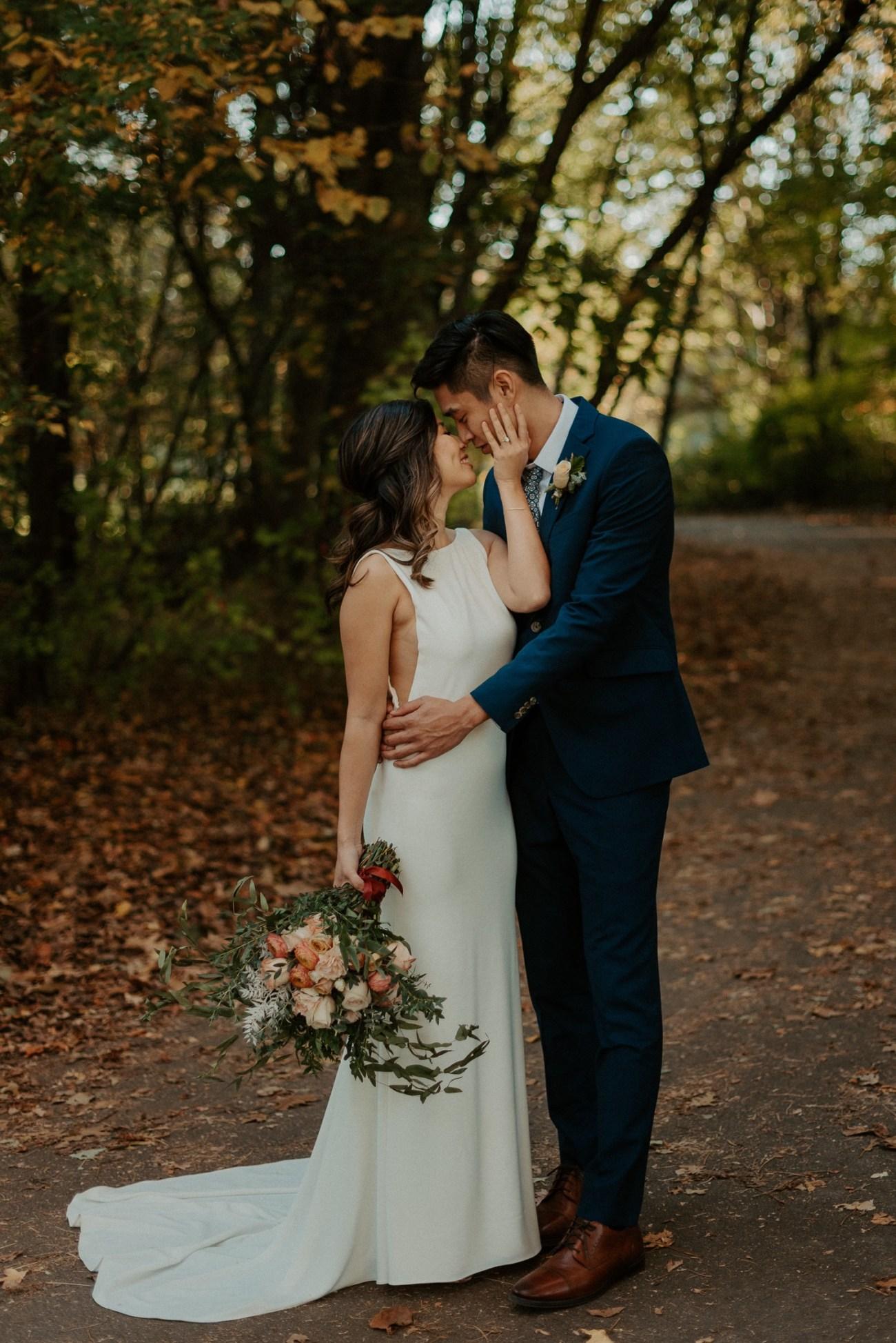 Prospect Park Brooklyn Wedding Fall Wedding In NYC New York Wedding Photographer Anais Possamai Photography 21
