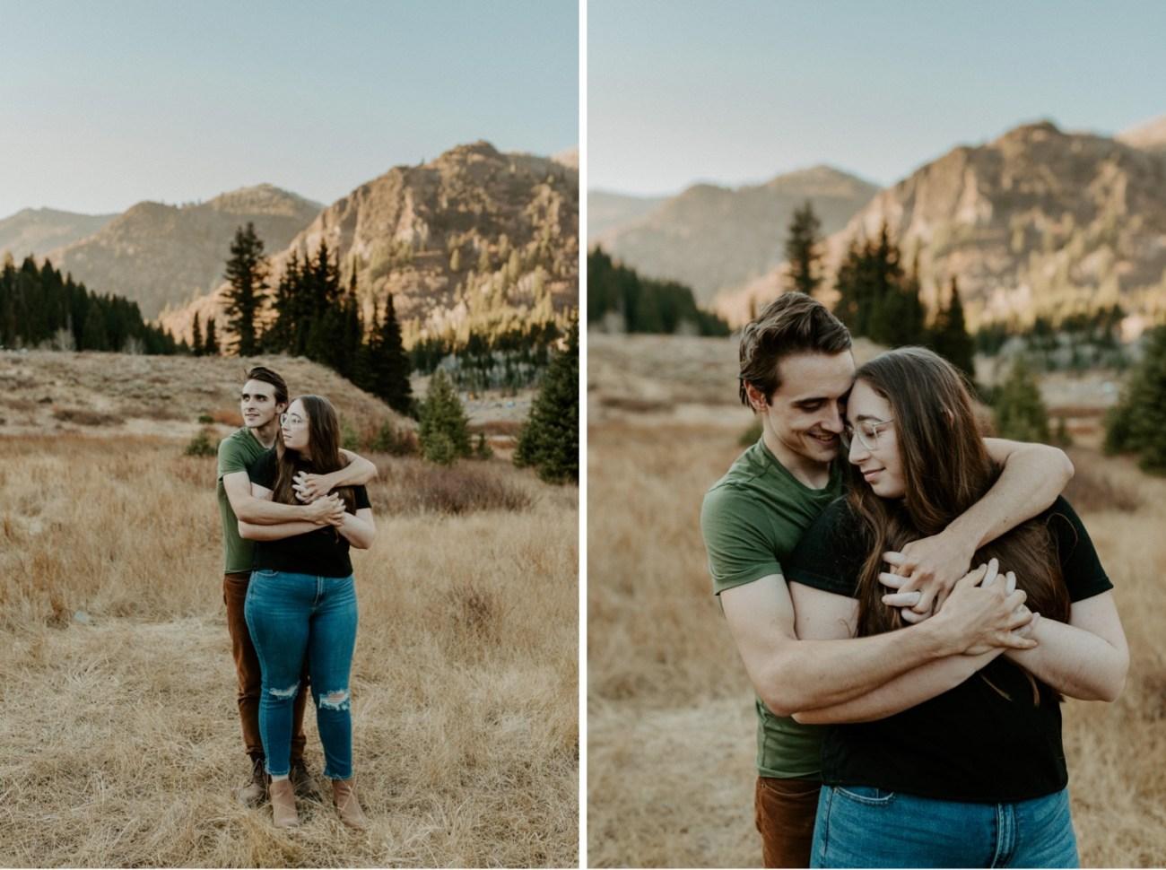 Big Cottonwood Couple Session Salt Lake City Wedding Photographer Anais Possamai Photography 013