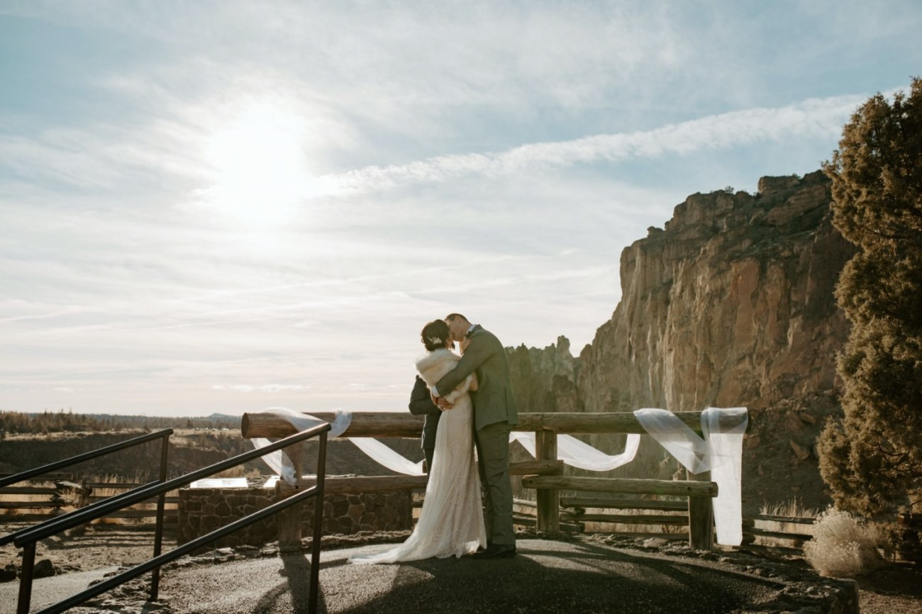 Intimate Wedding In Smith Rock State Park Bend Oregon Wedding Photographer Anais Possamai Photography 014