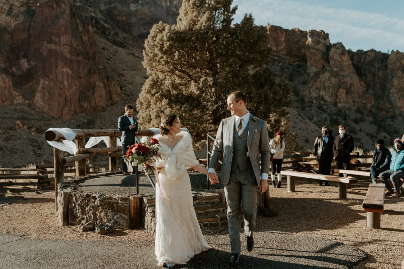 Intimate Wedding In Smith Rock State Park Bend Oregon Wedding Photographer Anais Possamai Photography 015