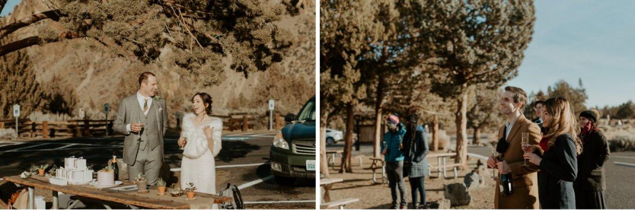 Intimate Wedding In Smith Rock State Park Bend Oregon Wedding Photographer Anais Possamai Photography 022
