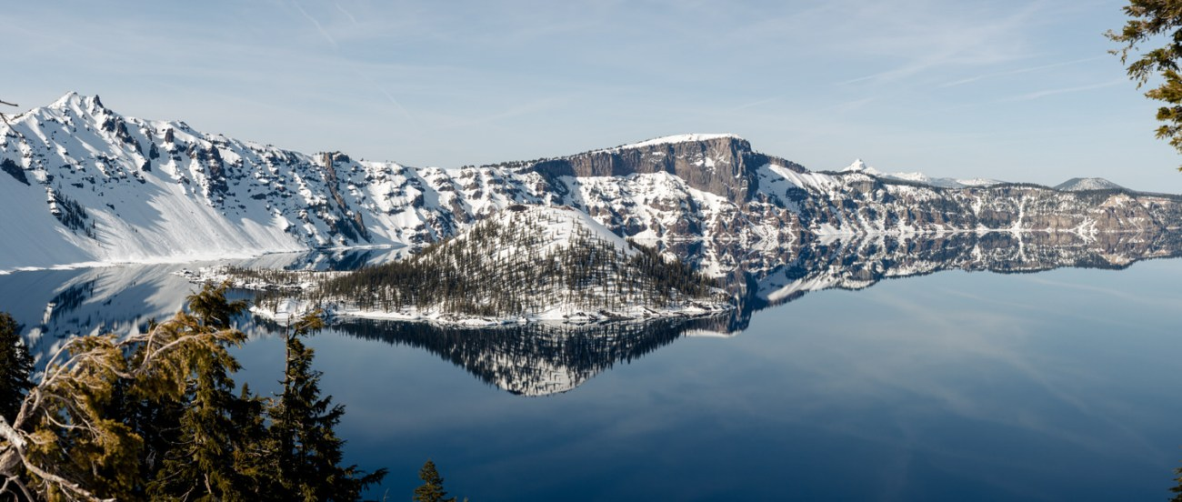 Crater Lake In The Winter Best Location To Elope Incentral Oregon Bend Wedding Photographer Anais Possamai