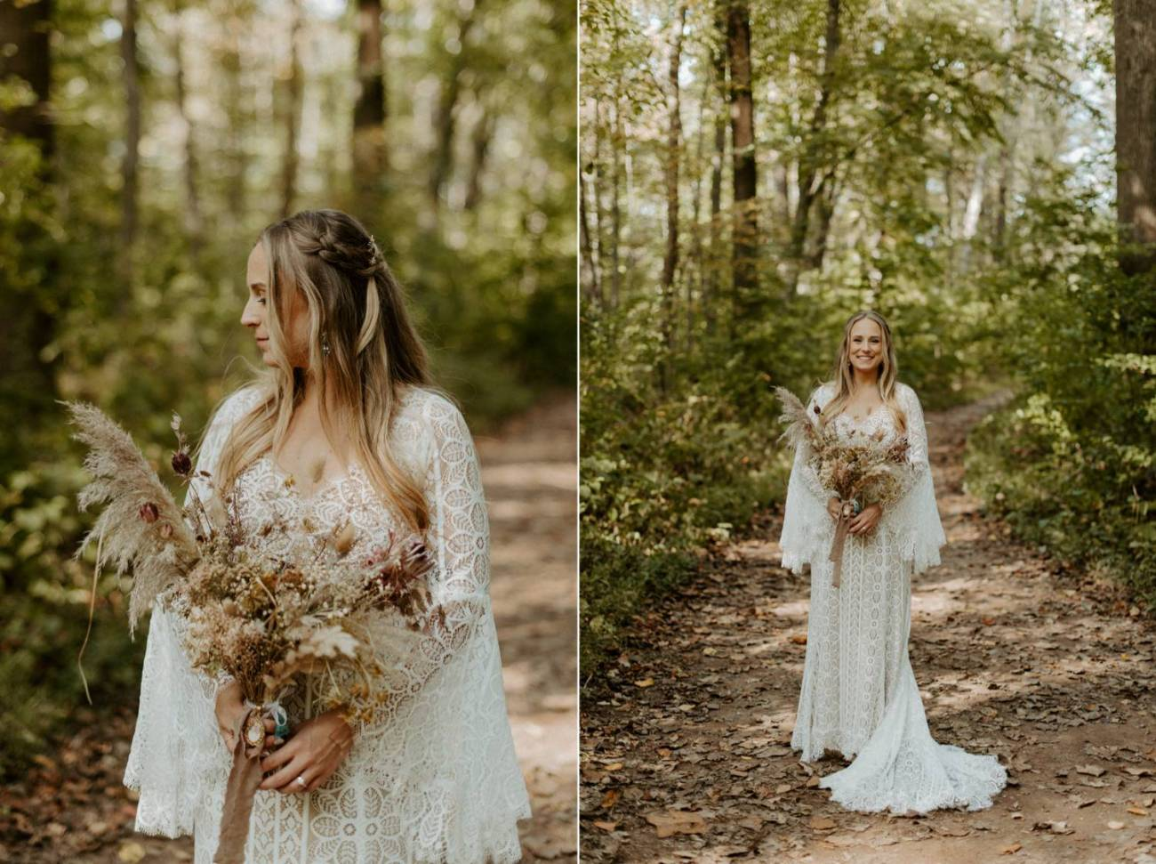 New Jersey Backyard Wedding Vintage Boho Wedding Hemlock Falls NJ Bend Oregon Wedding Phtographer Anais Possamai Photography 032