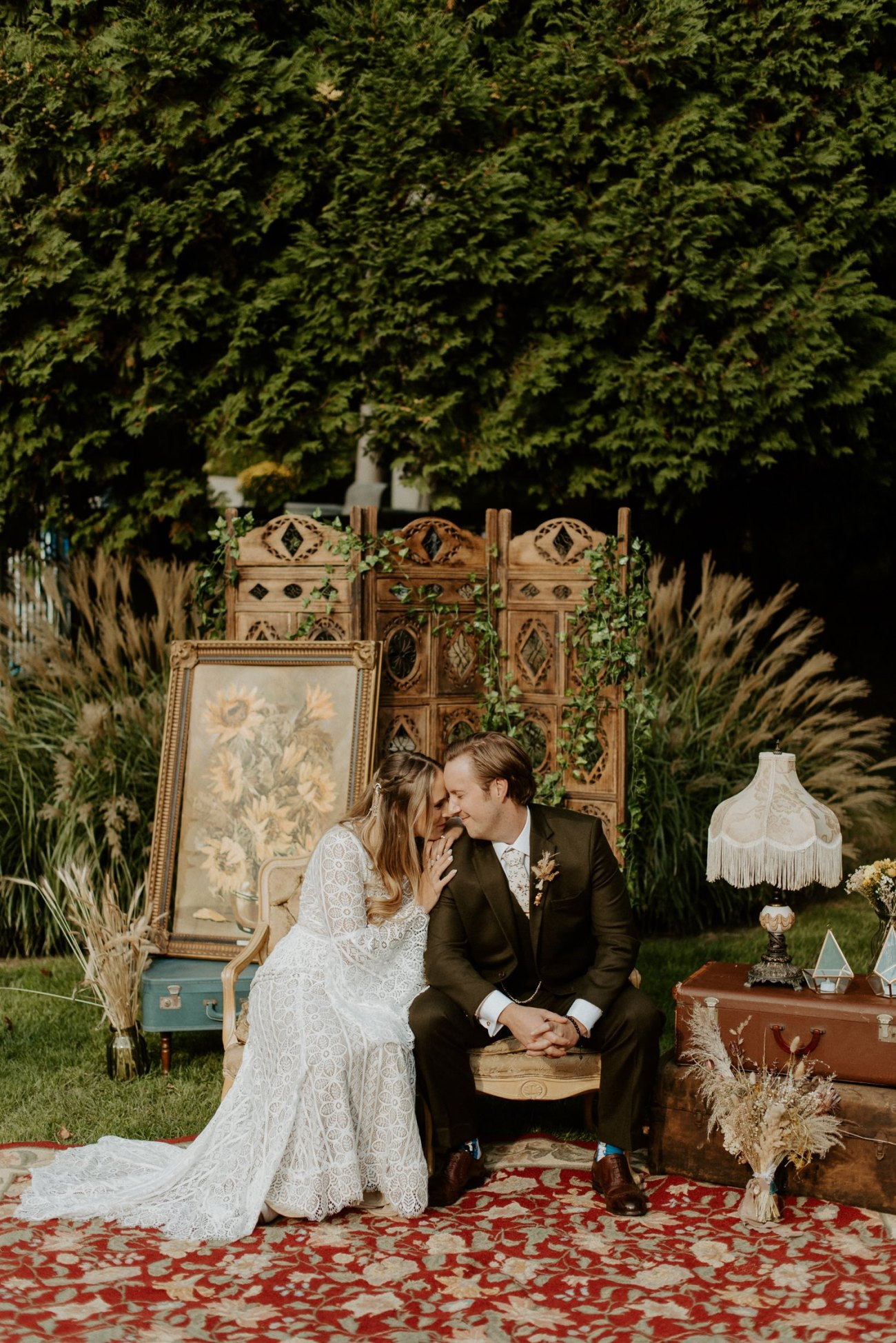 Vintage Boho Diy Backyard Wedding In New Jersey Anais Possamai Photography 089